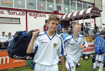 Leeds United's Conor Qualter— With strong Galway connections, is he a future Ireland player perhaps?