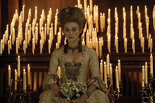 Keira Knightley in The Duchess.