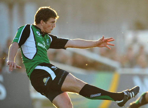 Ian Keatley was again outstanding for Connacht on Friday night during their win over Dax.