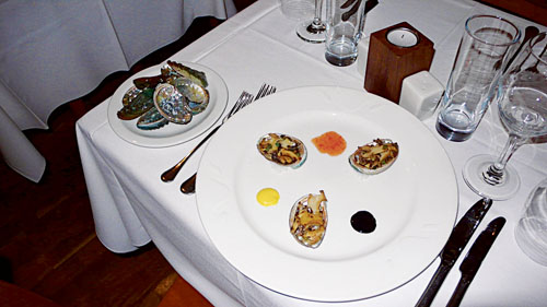 Enjoy abalone in Abalone from this weekend.