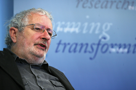Professor Terry Eagleton. Photo: Mike Shaughnessy