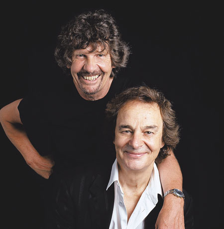 Rod Argent and Colin Blunstone of The Zombies.