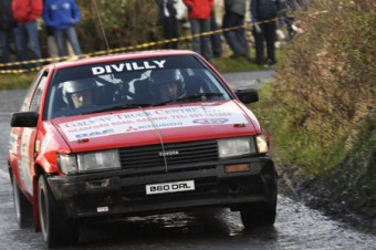 It was a great weekend of motorsport for the Divilly family of Moylough. Brothers Patrick and Gerard in a Toyota Corolla finished in eighth place in the junior class - just ahead of their sister Caroline who was navigating for Avril Hynes in a Suzuki Swift GTI.