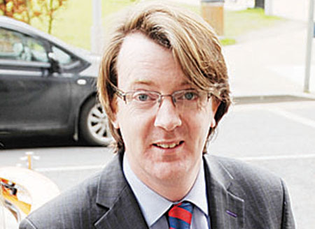 Neil McNelis — with hair Jonathan Ross would be proud of, the Labour man enjoys a high profile.
