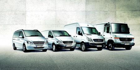 Sprinter van steers mercedes benz to for Mercedes benz worldwide sales figures