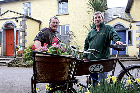 Peter and Paddy Cunningham of Dangan House Nurseries. Photo:-Mike Shaughnessy