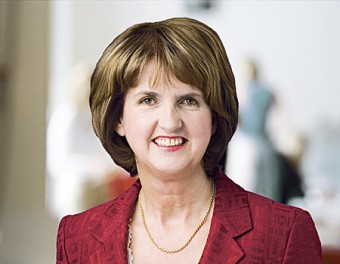 Joan Burton —  a credible future office holder.