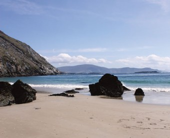 Keem  beach, Achill. 	Photo: Patrick Breslin