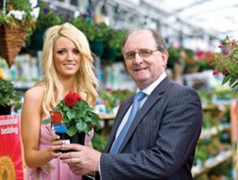 Miss Waterford Universe 2008 Samantha Stacey with Tom Murphy managing director of Modern Homes Exhibitions at the launch of the South East Garden Show and Modern Homes and Building Exhibition which takes place on July 17, 18, and 19 in Powerstown Park Racecourse, Clonmel.