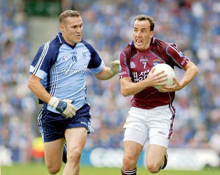 Westmeath will have to do without the experienced Damien Healy this weekend due to an injury picked up against Dublin. Photo: John O'Brien