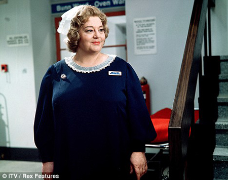 MRSA would never have flourished under old-style matrons as exemplified by actress Hattie Jacques.