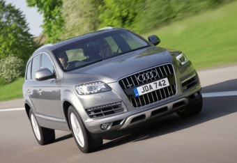The Audi Q7 SUV with a TDI engine featuring the world's cleanest diesel technology reducing emissions of harmful nitrogen oxide by up to 90 per cent. At the 2009 Frankfurt Show Audi exhibited an A4 Saloon benefiting from the same advanced technology.
