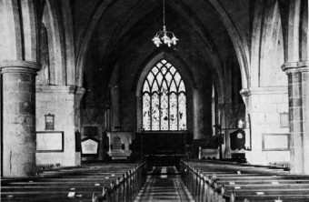 -Where is Bodkin's tomb today? Looking towards the nave and chancel of St Nicholas' Collegiate Church, a place of worship since 1320