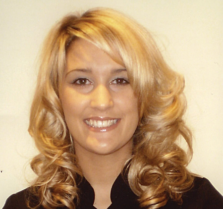 Siobhan Cusack, proprietor of Glamorous Hair Design.