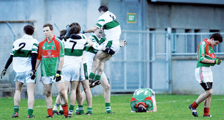 Garrycastle's great year came to a disappointing finish with defeat to Portlaoise in the Leinster Final.