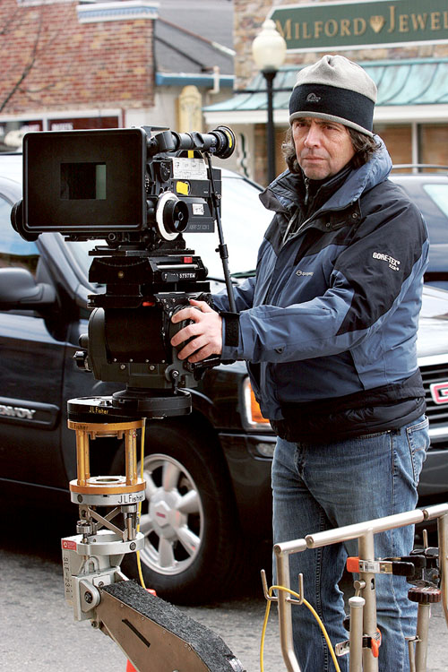Cinematographer Tim Fleming.