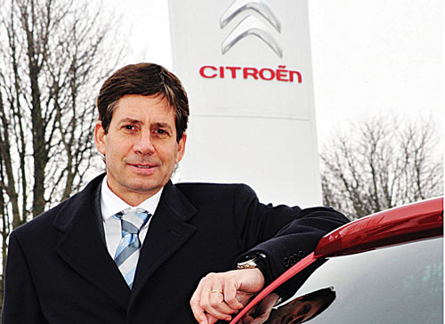 Thierry Calewaert, the new managing director of Citroën Motors Ireland.