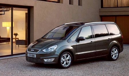 The new Ford Galaxy