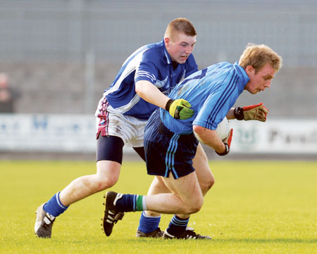 The versatile Kieran Martin adopted well to the new role of centre back.  Photo: John O'Brien