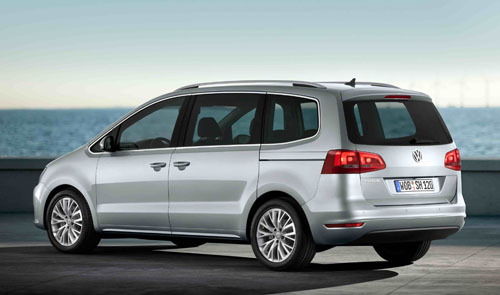 New Volkswagen Sharan 2010. New Volkswagen Sharan MPV on