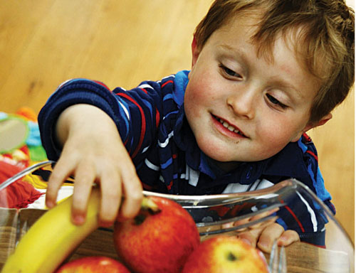 Have healthier options available as treats for children. Photo:-Mike Shaughnessy