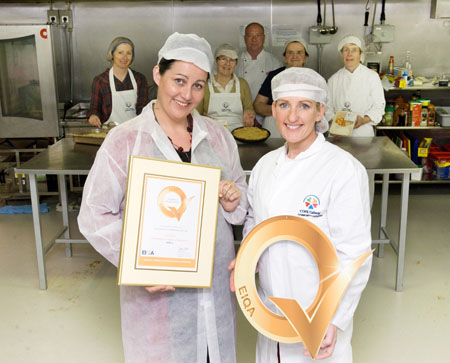Q Beauty Galway Advertiser.ie - COPE Community Catering receives Q mark
