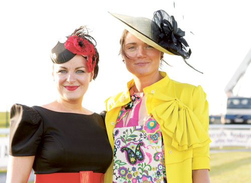 Pictured at last year's ladies day are judge Triona McCarthy and the 2009 winner Sarah Corcoran.