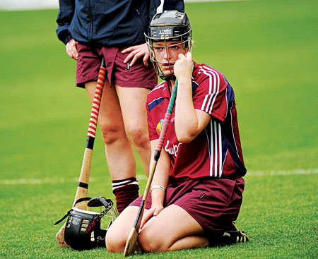 No consolation for Galway's Lorraine Ryan as Wexford claim the Gala All-Ireland Senior Camogie Championship crown.