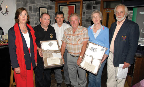 Winning smile: The winners of the recent stableford competition in Balla, sponsored by Castlebar and Balla Credit Union, collect their prizes.