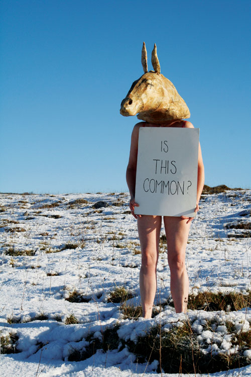 An image from Fiona Woods' exhibition Common?