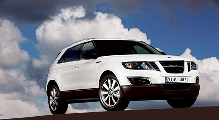 Advertiser ie - World premiere of new Saab 9-4X for LA Show