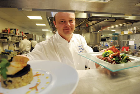 g hotel's award-winning executive chef, Stefan Matz