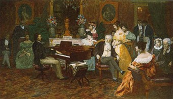 Chopin in Paris: His music induced a trance-like state in his listeners.