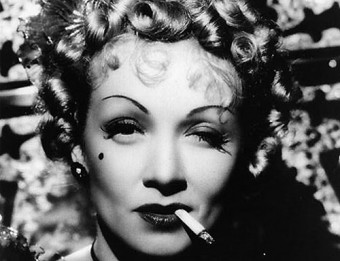 Marlene Dietrich: A star is made, not born.