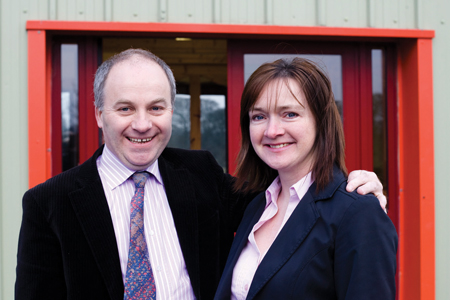 Building for the future - Noel and Kathleen Roache are growing and developing their laundry business in Castlebar.