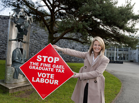 Labour's Lorraine Higgins — Have Labour erred by packing Galway East with two candidates?