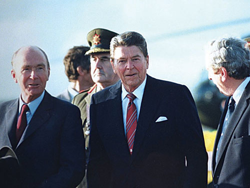 Times and positions have changed for many of the people who held opinions when Ronnie Reagan walked on Irish soil.