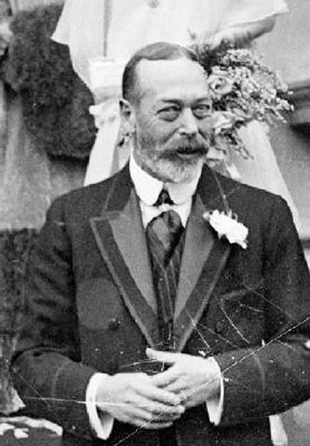 King George V: Endeavoured to avoid civil war in Ireland.