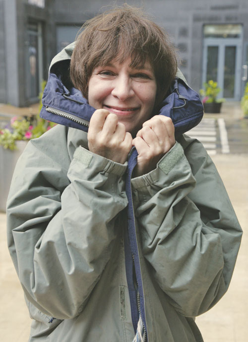 Amanda Plummer pictured in Galway this week by Mike Shaughnessy.