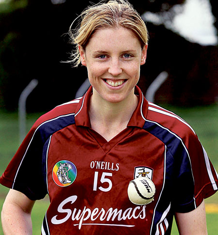 Galway senior camogie captain and full forward Brenda Hanney is looking to avenge last year's defeat to Wexford in Sunday's All Ireland final.