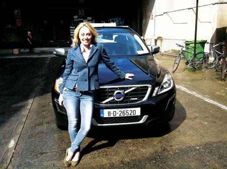 Advertiser.ie - Clodagh McKenna drives on in a Volvo XC60