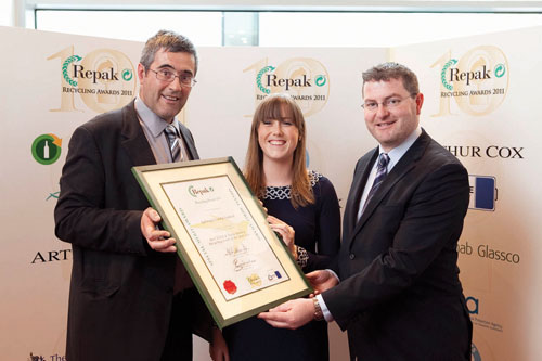 Advertiser ie - Galway County Council honoured for recycling