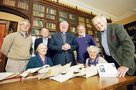 Members of the committee of Kilkenny Archives Ltd
