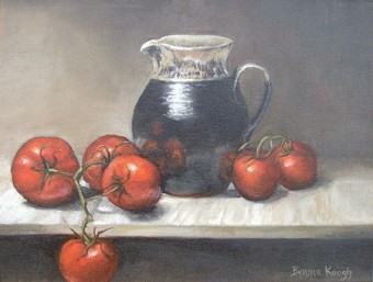 A still life by Bernie Keogh.