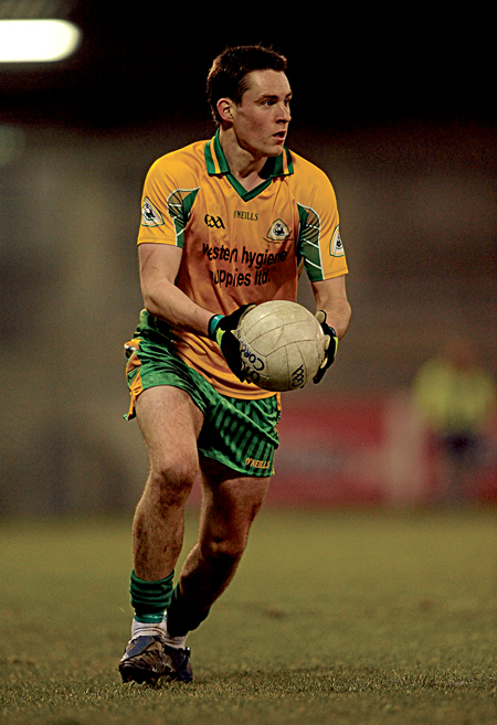 County U-21 star Michael Farragher will be key to Corofin's chances of success in county u-21 final on Saturday.