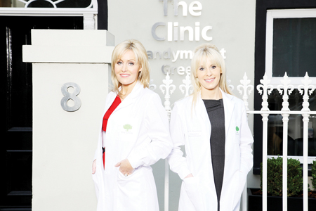 Doctors Jane (left) and Katherine Mulrooney, the medical directors of Seavite.