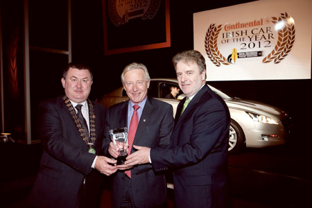 90f21febf686e8 Advertiser.ie - Peugeot win again at Irish Car of the Year Awards