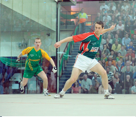 Eyes on the ball: Ballaghaderreen's Joe McCann kept up his winning ways last weekend. Photo:Sportsfile