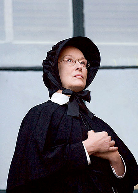 Meryl Streep in the film version of Doubt.