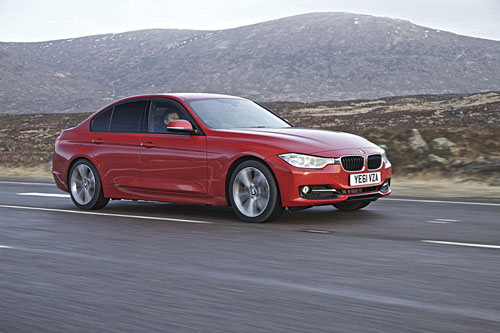 Pictured is one of the shortlisted contenders for the 2012 World Car of the Year - the new BMW 3 Series Saloon.